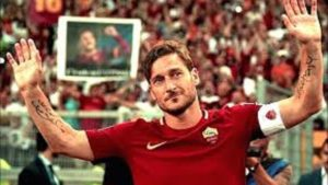 addio francesco totti ultima partita roma e video lettera