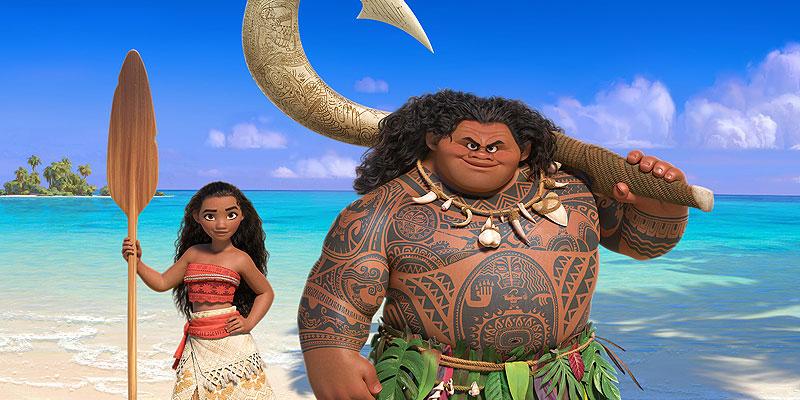 Canzoni Oceania Disney