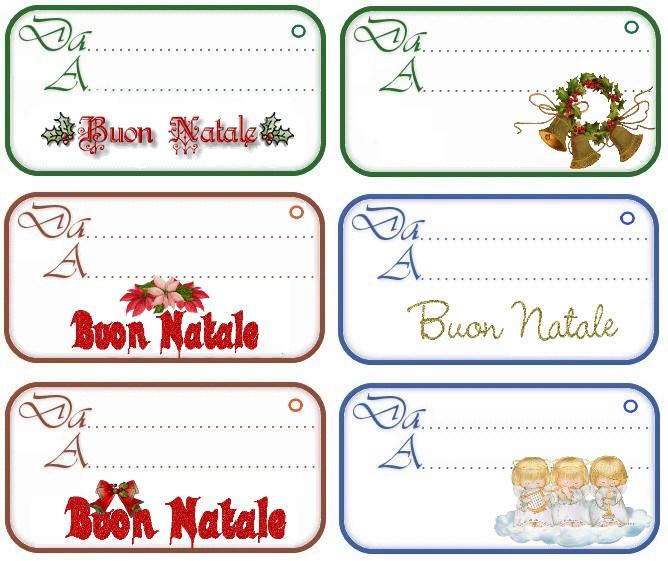 Biglietti Per Regali Di Natale Da Stampare.Migliori Etichette Per Regali Zeroo It